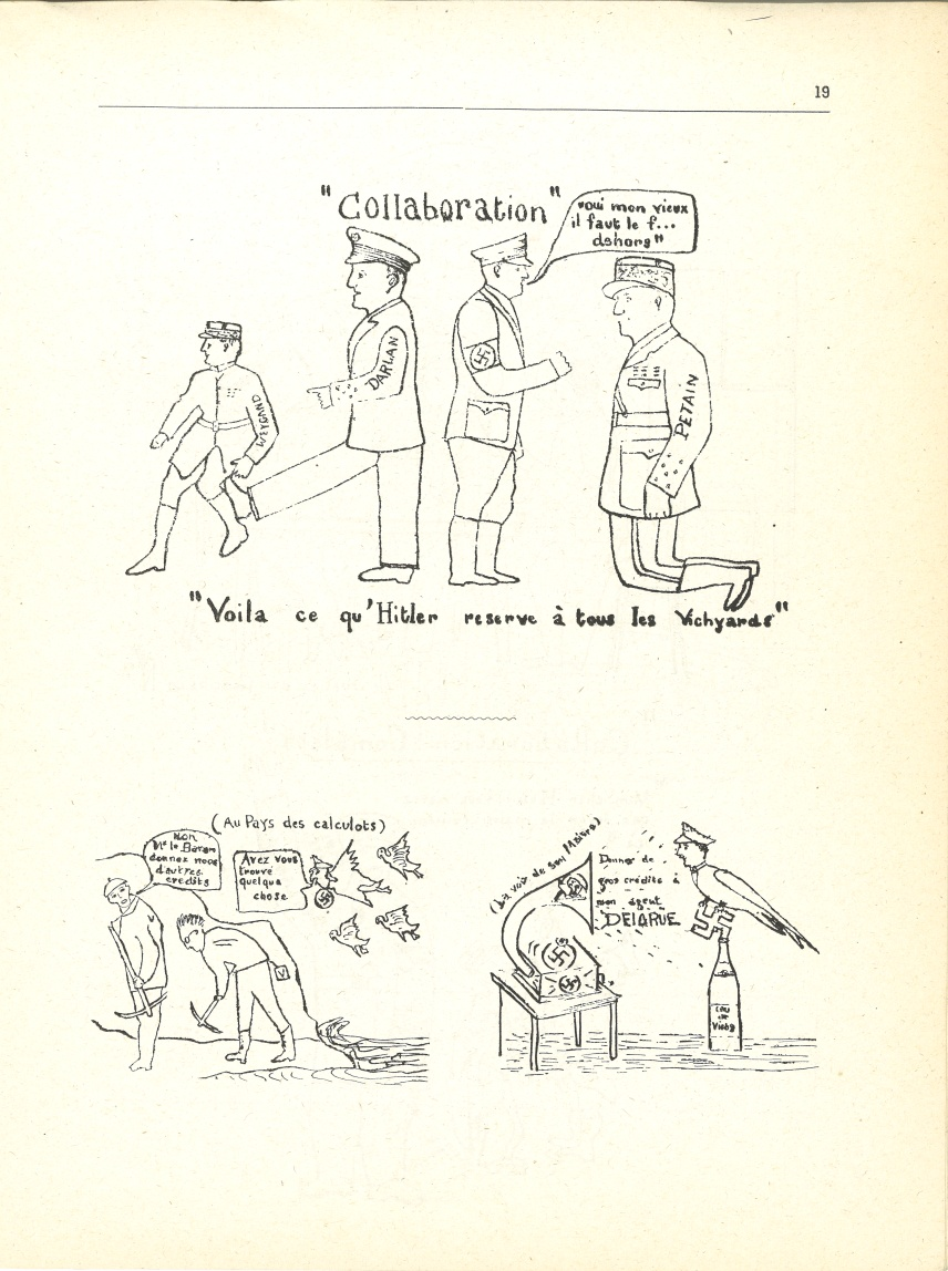 « Collaboration » – (Au pays des calculots)