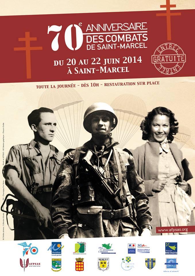 70e anniversaire des combats de Saint-Marcel