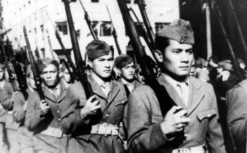 Chants des Tahitiens du bataillon du Pacifique