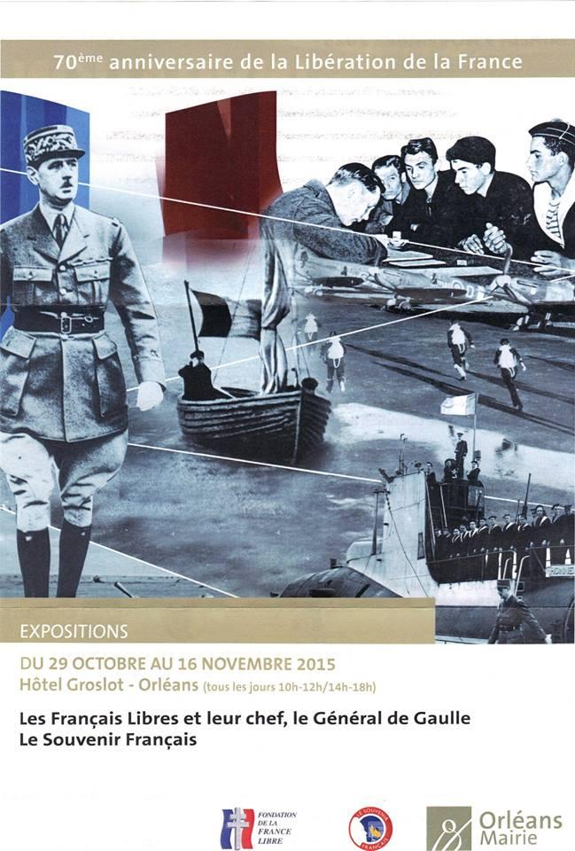 Expositions et conférence à Orléans