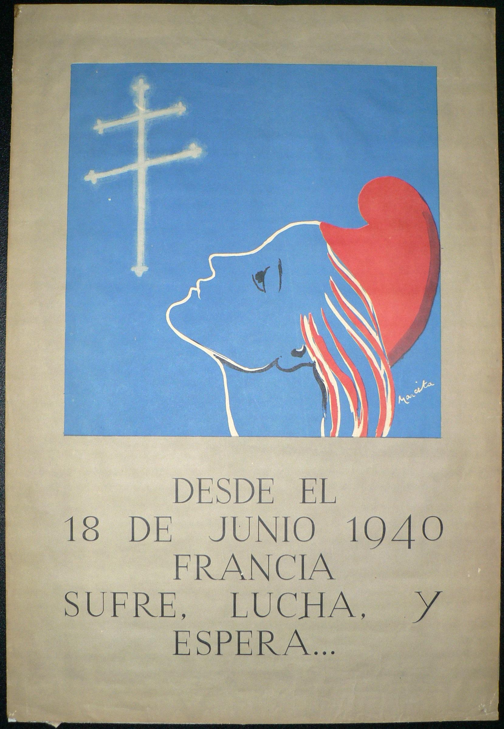 Réaliser des affiches pour la France Libre