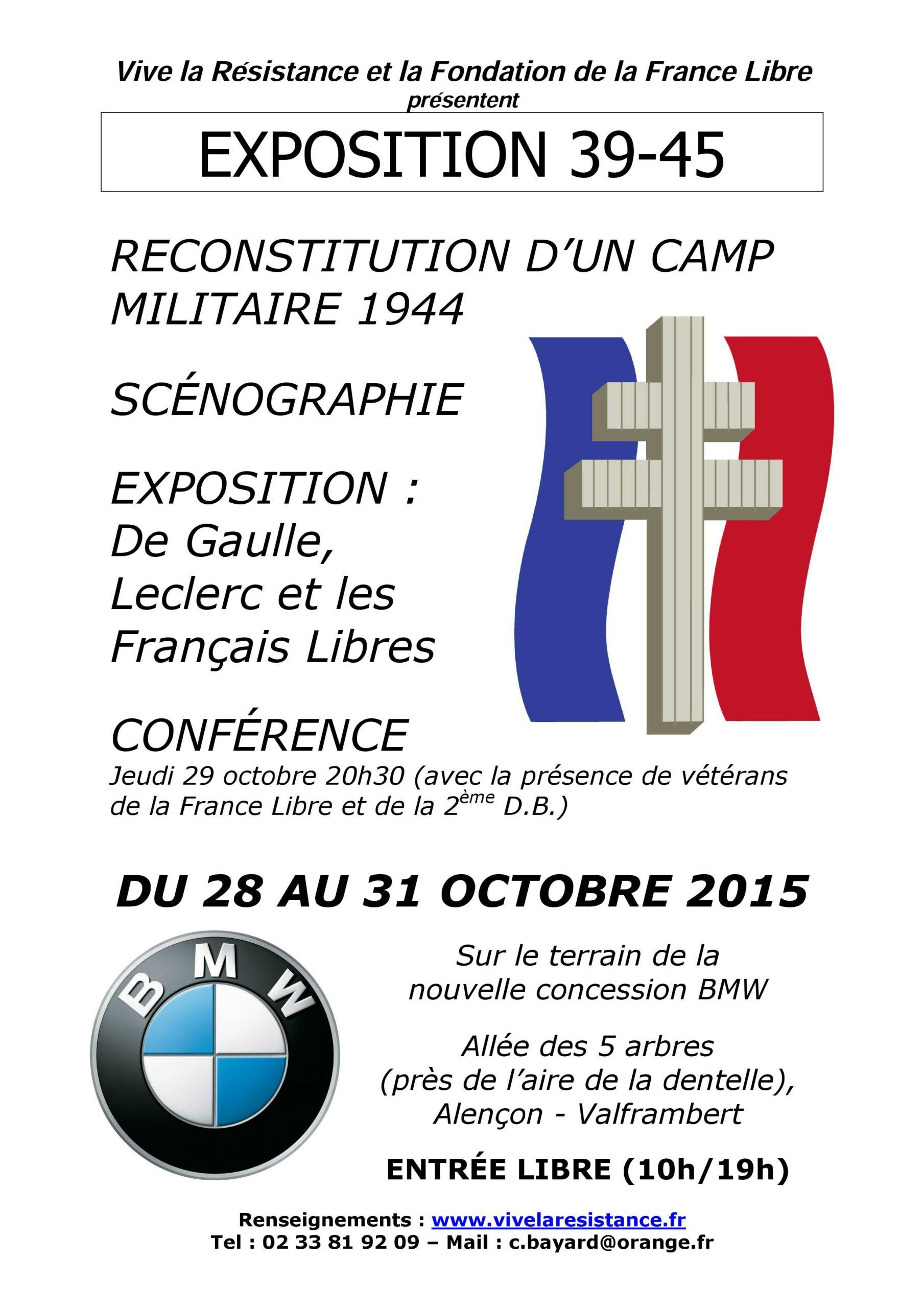 Exposition de Gaulle, Leclerc et les Français Libres