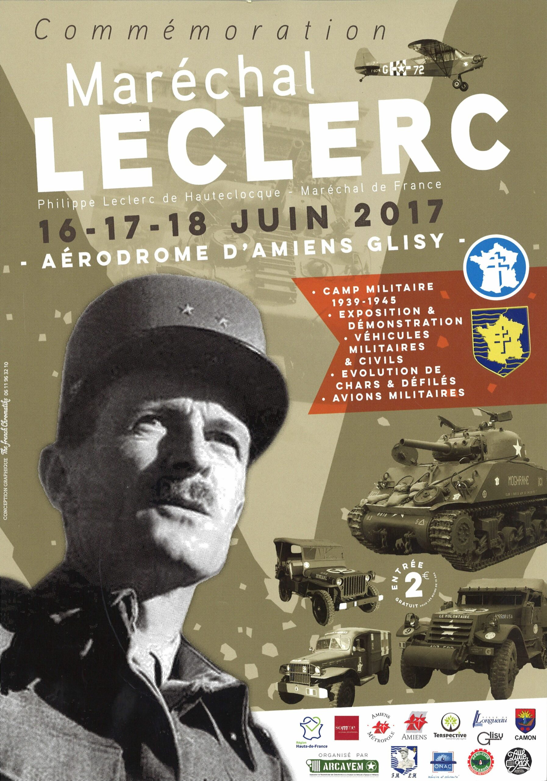 Commémoration du maréchal Leclerc (16-18 juin 2017)