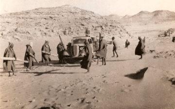 Le ravitaillement de la colonne Leclerc au Tchad