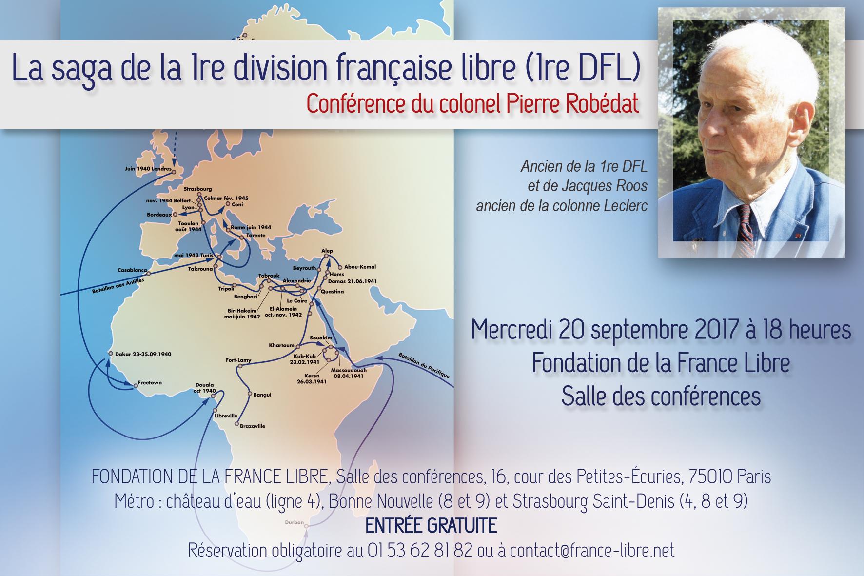 La saga de la Première division française libre (conférence)