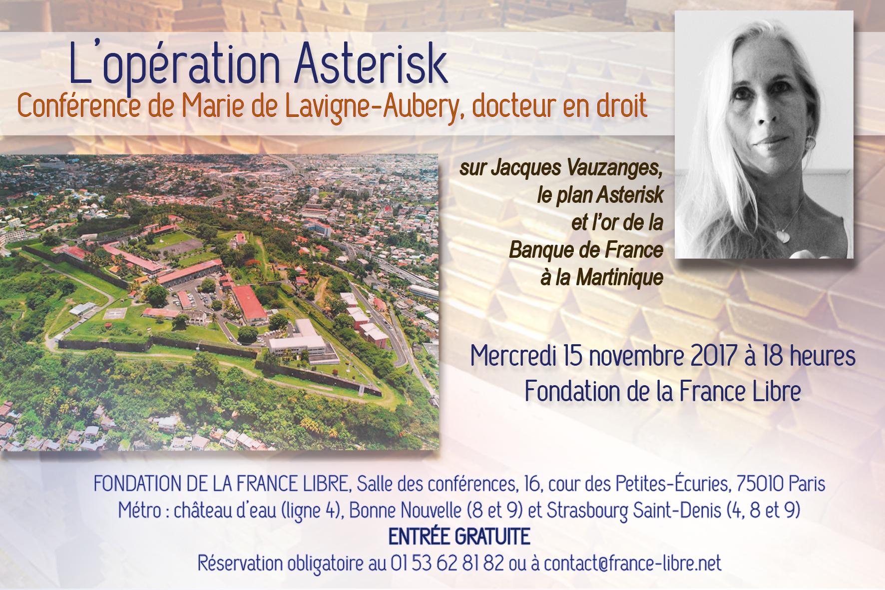 L'opération Asterisk (conférence)