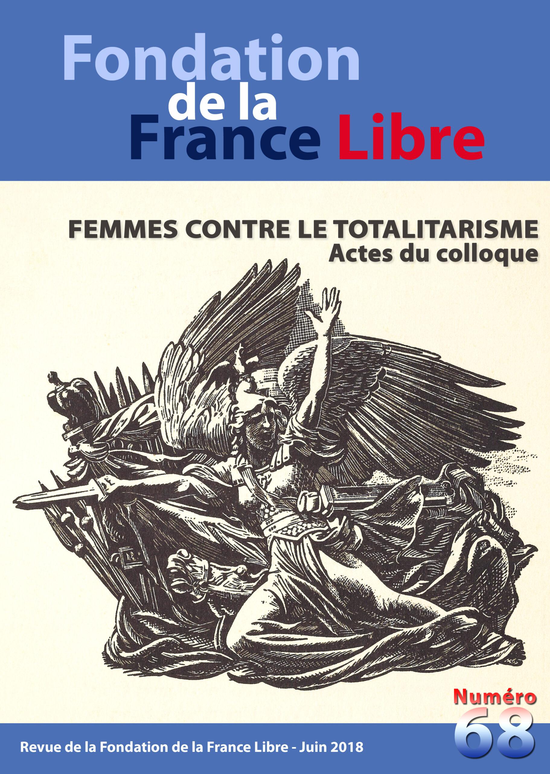 Fondation de la France Libre, n° 68, juin 2018