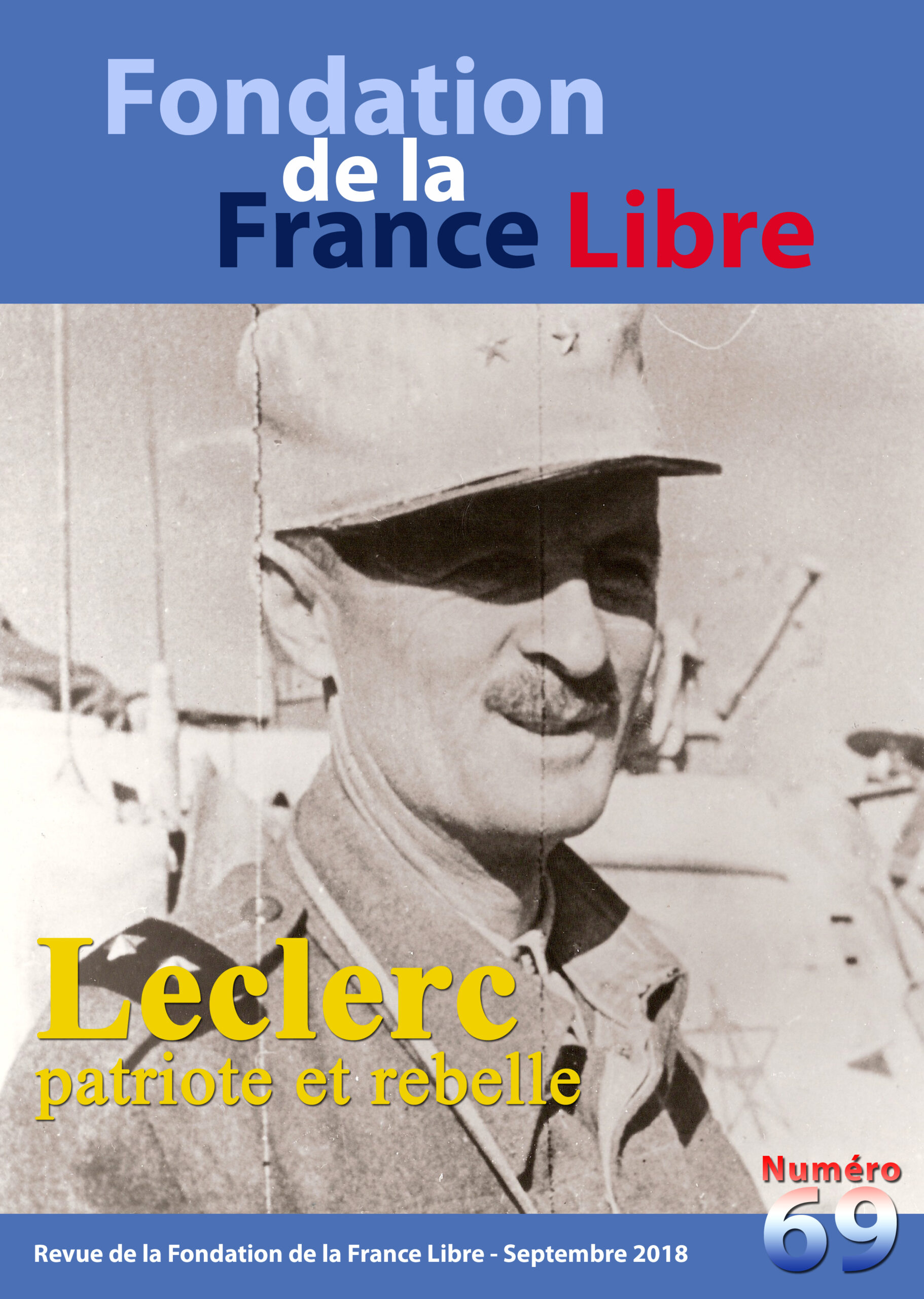 Fondation de la France Libre, n° 69, septembre 2018