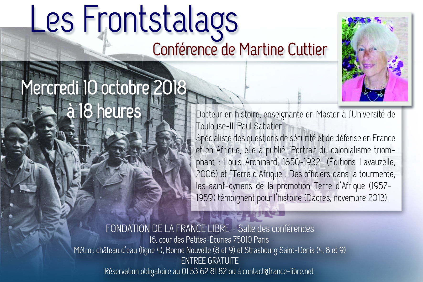 Les Frontstalags (conférence)