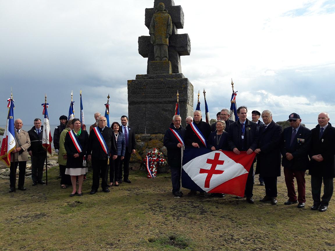 8 et 9 juin 2019 : voyage mémoriel de la Fondation « hommage aux Français Libres du Finistère et de l'île de Sein »
