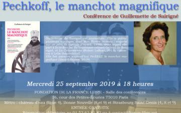 Pechkoff, le manchot magnifique (conférence)