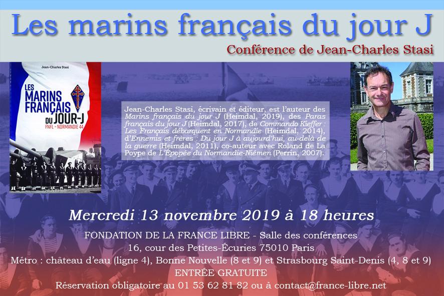 Les marins français du jour J (conférence)