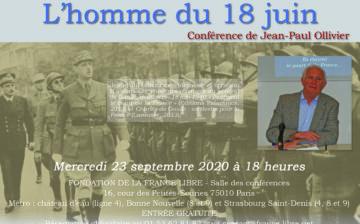 L'homme du 18 juin (conférence)