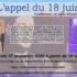 L'appel du 18 juin (conférence en ligne)