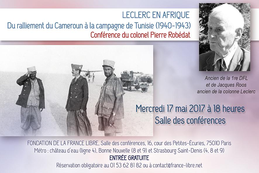Leclerc en Afrique (vidéo de la conférence)