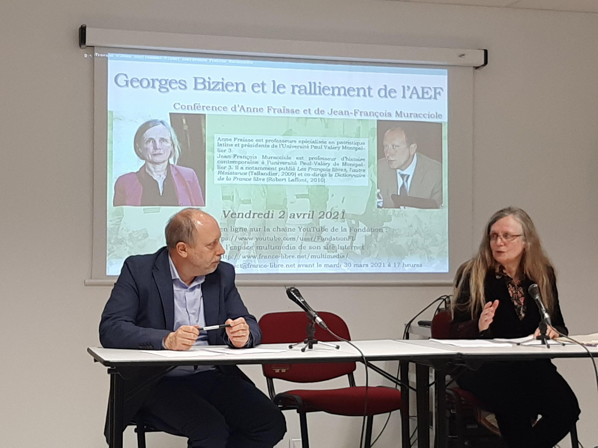 Gaston Georges Bizien et le ralliement de l'AEF (vidéo de la conférence)