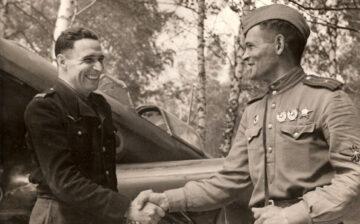 Naufragé du ciel sur le front russe en Prusse-Orientale avec le régiment Normandie-Niémen