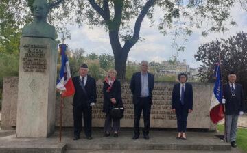 Commémoration du 79e anniversaire de Bir Hakeim