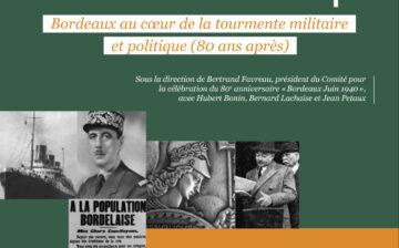 Colloque Bordeaux Juin 40
