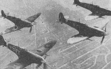 À l'aube du 6 juin 1944, la chasse française libre entre en action