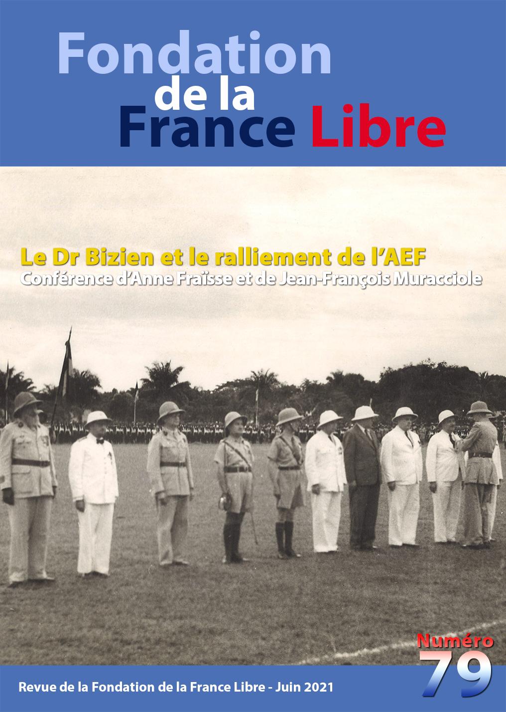 Fondation de la France Libre, n° 79, juin 2021