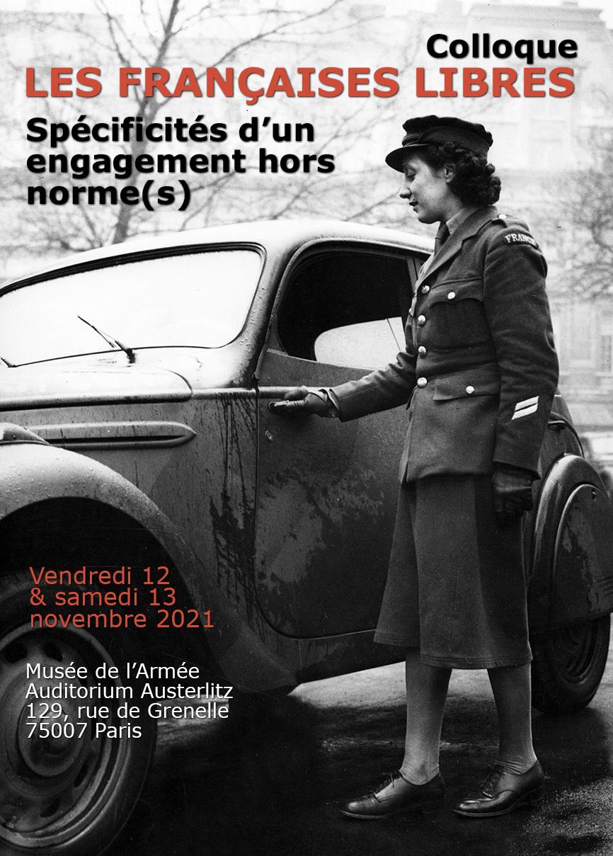 Colloque Les Françaises Libres : Spécificités d'un engagement hors norme(s)